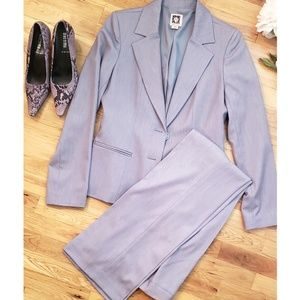 Anne Klein Jackets & Coats - 🆕️Anne Klein Grey Stretch Pantsuit Sz 4
